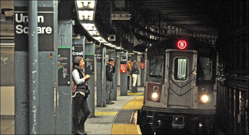 """FROM AUGUST 2018 NEWSLETTER, """"A NY SUBWAY LOVE AFFAIR"""""""
