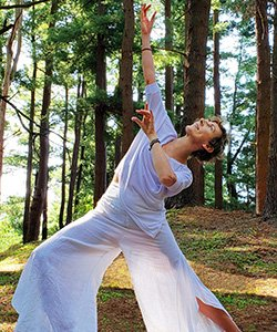 Yoga in Forest area